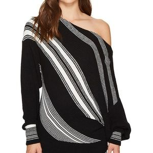 Free People 'Spectrum' Off Shoulder Sweater - L